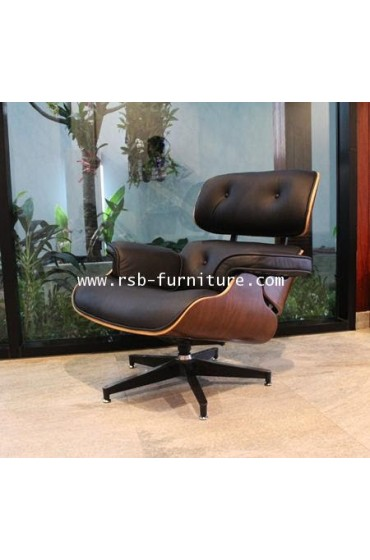 Eames Lounge Chair and Ottoman (Replica)